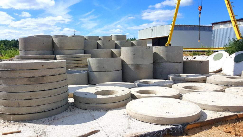 где можно купить бетонные кольца