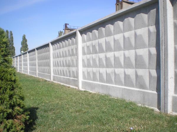бетон забор
